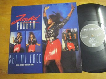 "Jaki Graham ""Set Me Free"""