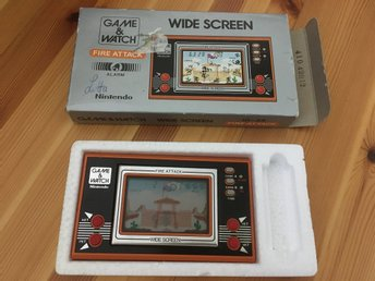 Wide screen/ Fire attack / Game & Watch / Nintendo