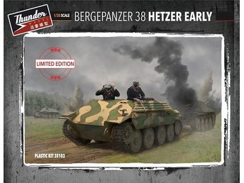 Thunder Models 1/35 Bergehetzer Early Special Edition (full engine compartment)