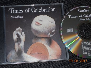 SANDHAN - Times of celebration, Piano solos, CD Fønix Musik 1991