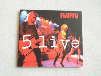 "Fluffy. ""5 Live"". Cd/1999. Female Rå Punk."