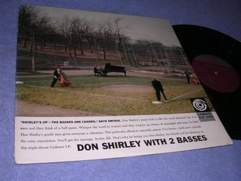 Don Shirley With 2 Basses (LP) US 58 org VG++/VG++