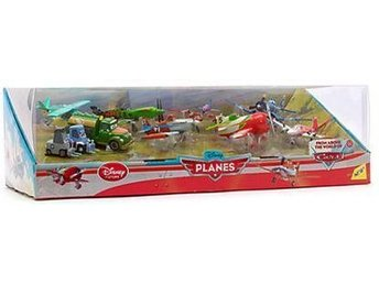 Flygplan - Planes - Ultimate PRESENT pack - 10st Figurer - Original Disney