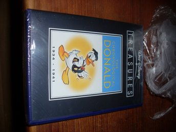 walt disney treasures chronological donald volym 1 2disc kalle anka original - Säter - Inplastad ny första utgåva. Betala inom 2 dagar till swedbank el swish. - Säter