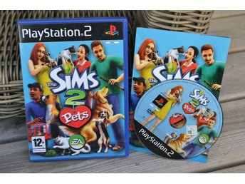 The Sims 2 Pets PS2 Playstation 2 Komplett Fint Skick