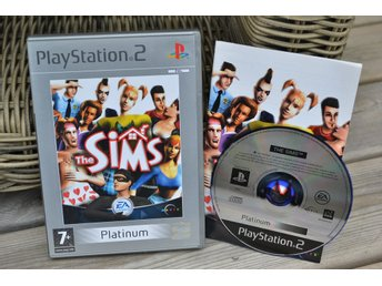 The Sims PS2 Playstation 2 Komplett (Platinum) Fint Skick