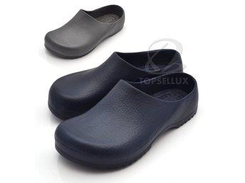 c697c051dca Nya foppatofflor sandaler tofflor toffel herr plasttofflor skor sko storlek  40