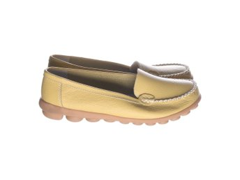 Loafers, Loafer , Strl: 40, Gul, Skinn