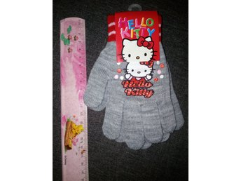 Fingervantar  barn Hello Kitty stickad barn one size handaskar