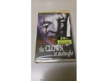 THE CLOWN AT MIDNIGHT. FD HYR VHS