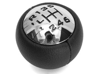 Car 6 Speed Black Gear Stick Shift Knob Fit For Peugeot
