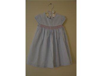 Sommar klänning flicka bomull stl. 80 - Vaxholm - Sommar klänning flicka bomull stl. 80 - Vaxholm
