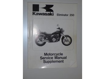 Verkstadshandbok supplement Eliminator 250 / El250 '87