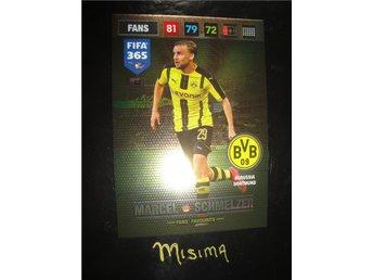 MARCEL SCHMELZER - Fans Favourite - Borussia Dortmund - Panini XL FIFA 365 2017 - Rydsgård - MARCEL SCHMELZER - Fans Favourite - Borussia Dortmund - Panini XL FIFA 365 2017 - Rydsgård