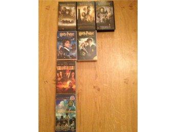 VHS-filmer Harry Potter Sagan om Ringen Pirates Madicken - Mariestad - VHS-filmer Harry Potter Sagan om Ringen Pirates Madicken - Mariestad