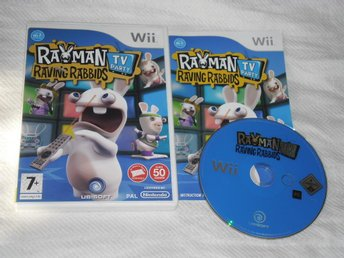 Nintendo Wii: Rayman: Raving Rabbids TV Party