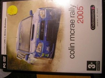 PC-spel Colin Mcrae rally 2005