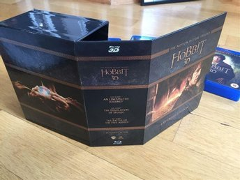 HOBBIT Trilogin 3D Box set 15-disc Extended edition ( Sagan om ringen )
