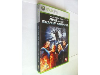 Xbox 360: Fantastic Four - Rise of the Silver Surfer