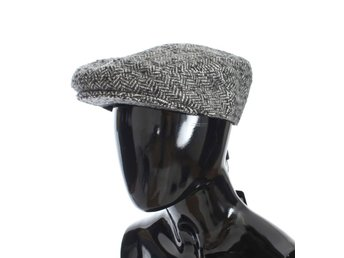 Dolce & Gabbana - Gray Tweed Wool Newsboy Hat