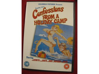 CONFESSIONS FROM A HOLIDAY CAMP - DVD - OBS EJ SVENSK TEXT