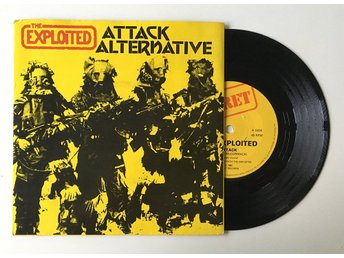 "The Exploited ""Attack / Alternative"" 1982 UK82 Oi Första press"