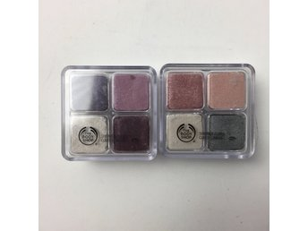 The Body Shop, Ögonskugga, Shimmer Cubes, 2 st