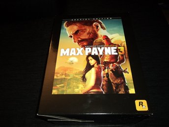 PC Max Payne 3 Collectors Edition Inplastat!