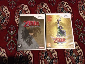 Zelda: Skyward Sword + Zelda Twilight Princess