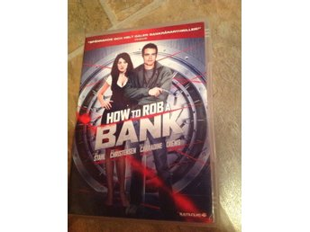 How to rob A bank, thriller komedi, dvd , nick Stahl