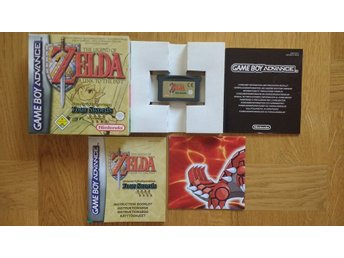 GBA/Game Boy Advance: Zelda: A Link to the Past (svensksålt/toppskick)
