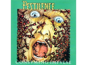 Pestilence ‎–Consuming impulse lp Death metal Black vinyl