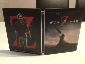 World War Z - Limited Steelbook (3-disc, Blu-ray + 3D)  - UTGÅTT