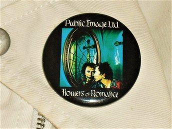 PUBLIC IMAGE LTD - STOR Button-Badge / Pin (Post Punk, PiL, Lydon, Sex Pistols,)