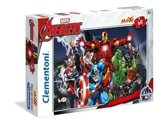 60 pcs. MAXI  Puzzles Kids SuperColors THE AVENGERS