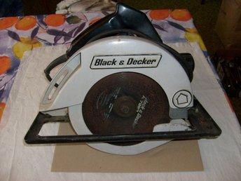 cirkelsåg black & decker
