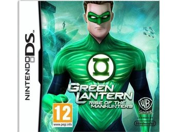 Green Lantern: Rise of the Manhunters - Helt nytt till Nintendo DS!!!