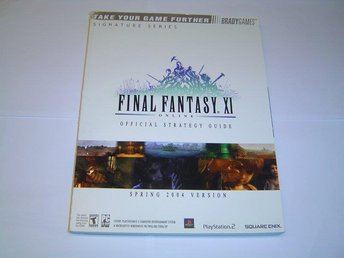 Final Fantasy XI Spelguide Guide *NYTT*