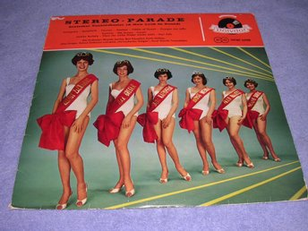 Stereo Parade (LP) sexy cover VG+/VG+