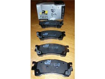Mazda 323, 626, MX6, Familia Bromsbelägg Fram - Hult - Mazda 323, 626, MX6, Familia Bromsbelägg Fram - Hult