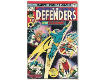 Defenders # 28 VF 1st Starhawk/Guardians of The Galaxy