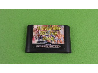 3 spel i 1 The Revenge of Shinobi Streets of Rage Golden Axe Sega Megadrive