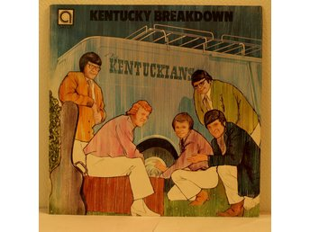 LP. THE KENTUCKIANS - KENTUCKY BREAKDOWN. UK.