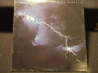 LP - DIRE STRAITS. Love over Gold. 1982
