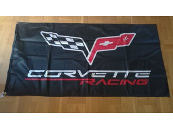 Flagga. Corvette Racing.
