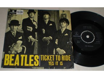 Beatles 45/PS Ticket to ride 1965