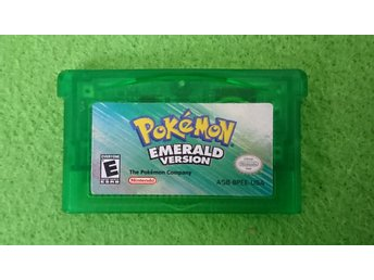 Pokemon Emerald Gameboy Advance Nintendo GBA