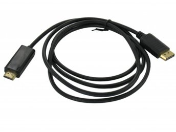 Display Port Male to HDMI Male Cable 1.5 meter -