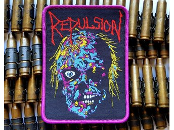 REPULSION - Horrified patch /macabre/autopsy/carcass/terrorizer/napalm death/