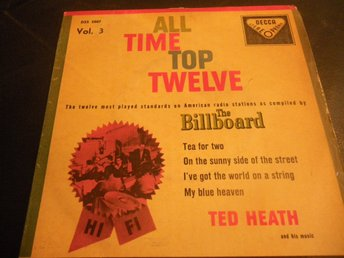 all time top twelve ted heath the bilboard ep